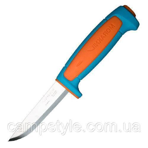 Ніж Morakniv Basic 511 углеродистая сталь пласт  ручка синий 13152
