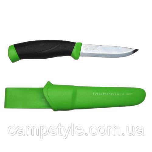 Ніж Morakniv Companion Green нержавіюча сталь колір зелений