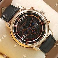 Механические наручные часы Patek Philippe Sky Moon Gold/Black 1907