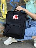 Жіночий рюкзак Kanken чорний, фото 2