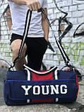 Спортивна сумка Young синя, фото 4