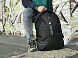 Якісний чоловічий рюкзак з шкіряним дном, фото 3