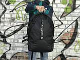 Якісний чоловічий рюкзак з шкіряним дном, фото 2