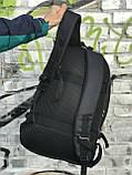 Качественный мужской рюкзак с кожаным дном, фото 5