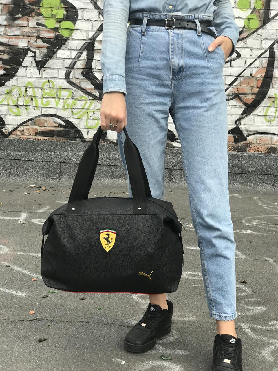 Жіноча сумка Puma Ferrari чорна
