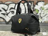 Жіноча сумка Puma Ferrari чорна, фото 4