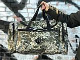 Дорожная сумка камуфляжная (60 л.), фото 3