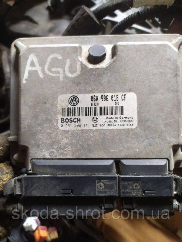 Блок управления двигателем мозги 06A906018CF VAG Шкода Октавия Тур 1.8T AGU