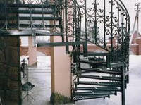 Кованые лестницы в дом