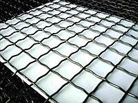 Сетка рифленая канилированная - 5,0 (5,6) - 70 мм х 70 мм (неоцинкованная)