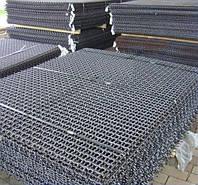 Сетка рифленая канилированная - 4,0 (5,0) - 45 мм х 45 мм (оцинкованная)