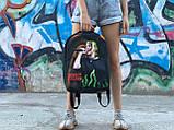 Шкільний рюкзак Bilie Eilish, фото 3