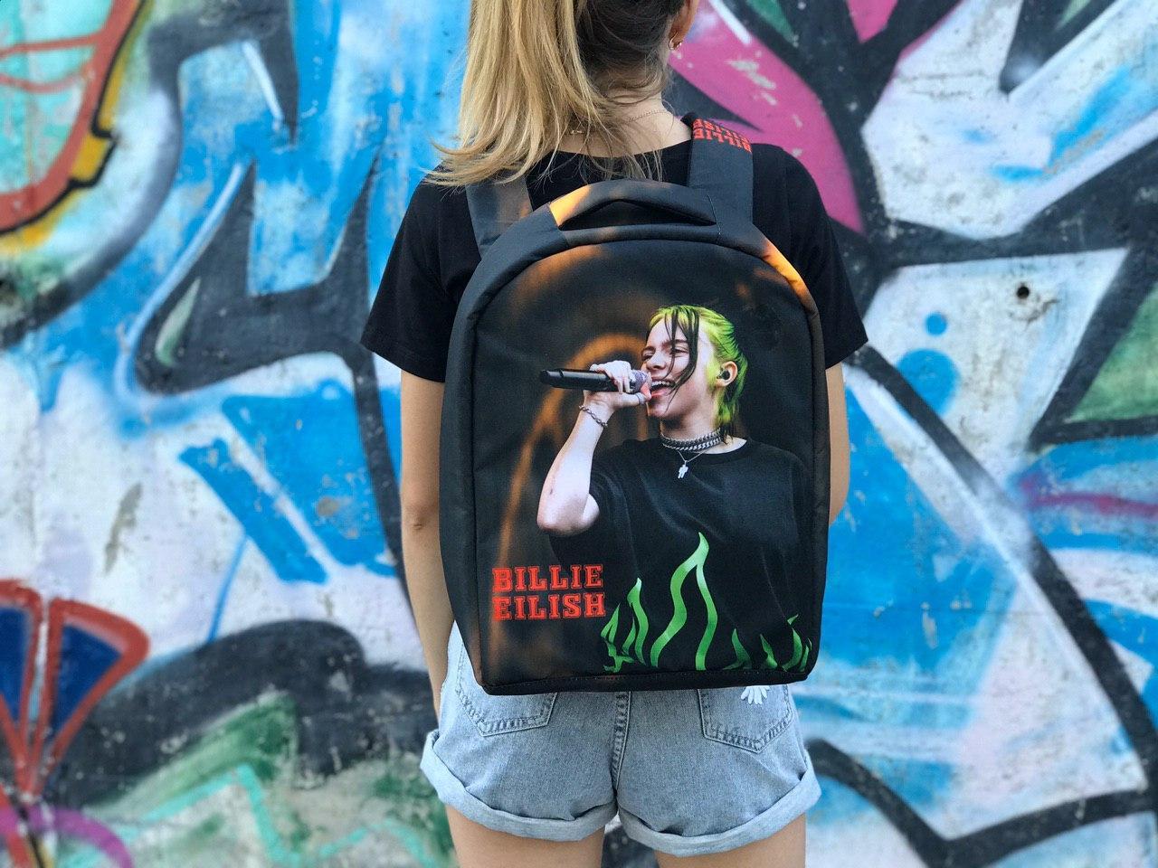 Шкільний рюкзак Bilie Eilish