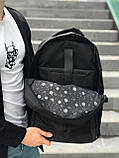 Мужской рюкзак черный, фото 4