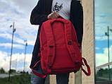Чоловічий рюкзак червоний, фото 3