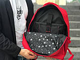 Чоловічий рюкзак червоний, фото 4