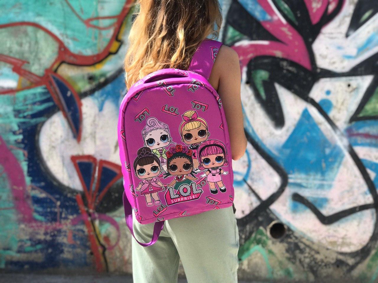 Шкільний рюкзак Лол