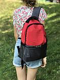 Жіночий рюкзак червоний, фото 2