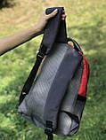 Жіночий рюкзак червоний, фото 6