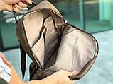 Кожаный рюкзак David Jones коричневый, фото 3