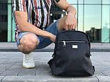 Кожаный рюкзак David Jones черный, фото 2