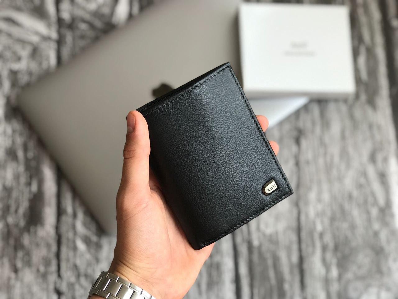 Стильний гаманець з натуральної шкіри