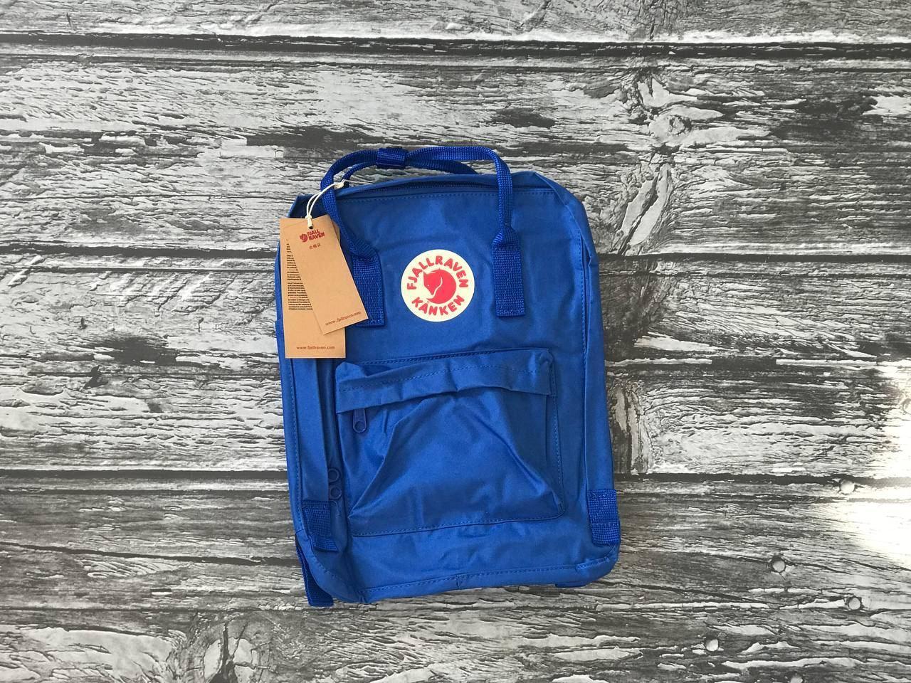 Рюкзак Kanken синій