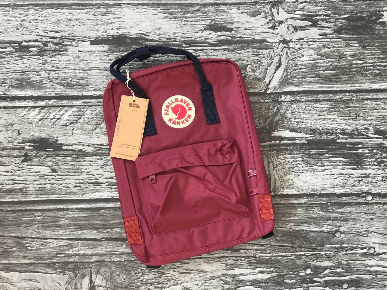Рюкзак Kanken бордовый