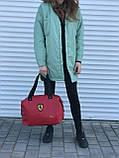 Женская сумка Puma Ferrari красная, фото 3