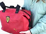 Женская сумка Puma Ferrari красная, фото 4