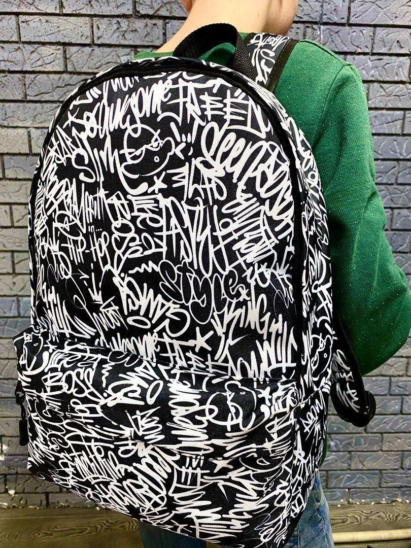Рюкзак з принтом графіті