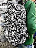 Рюкзак з принтом графіті, фото 3