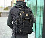 Брезентовый рюкзак Gold Be черный, фото 2