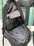 Брезентовый рюкзак Gold Be черный, фото 3