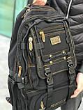 Брезентовый рюкзак Gold Be черный, фото 5