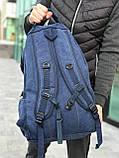 Брезентовый рюкзак Gold Be синий, фото 5