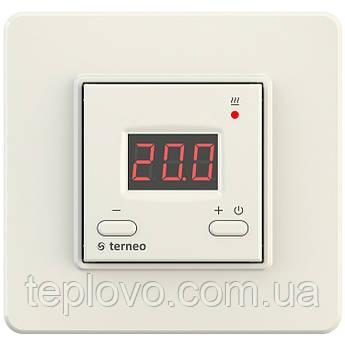 Терморегулятор цифровой terneo st (cлоновая кость) для теплого пола