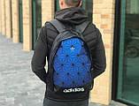 Качественный рюкзак Adidas синий, фото 2