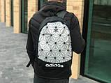 Качественный рюкзак Adidas белый, фото 2