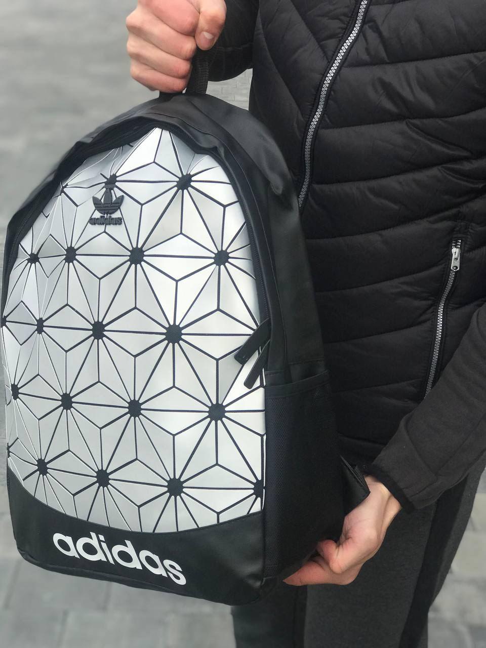 Якісний рюкзак Adidas білий