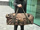 Дорожная сумка-рюкзак, камуфляжная (60 л.), фото 2