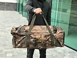 Дорожня сумка-рюкзак, камуфляжна (60 л.), фото 2