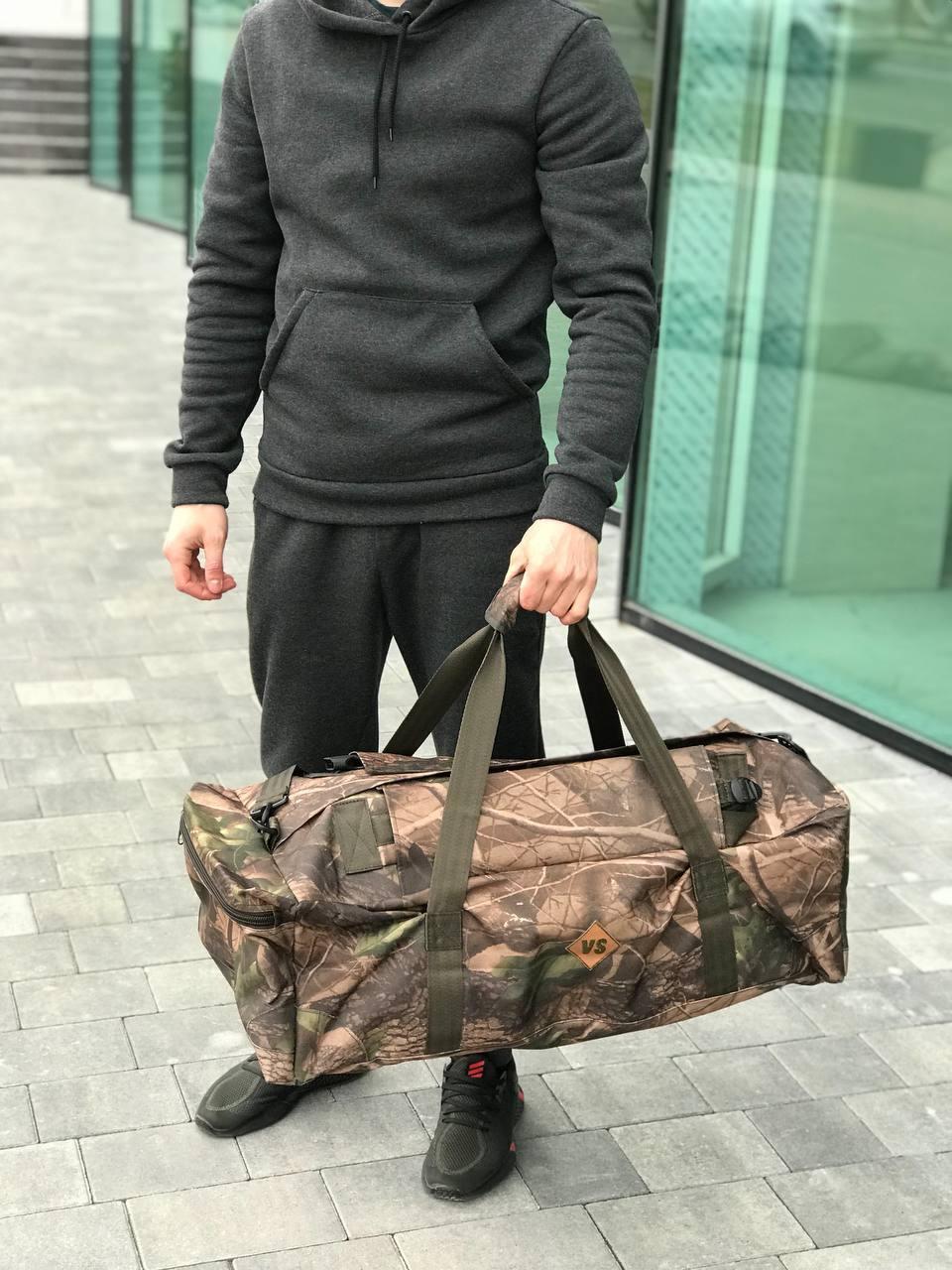 Дорожная сумка-рюкзак, камуфляжная (60 л.)