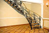 Заказать кованую лестницу