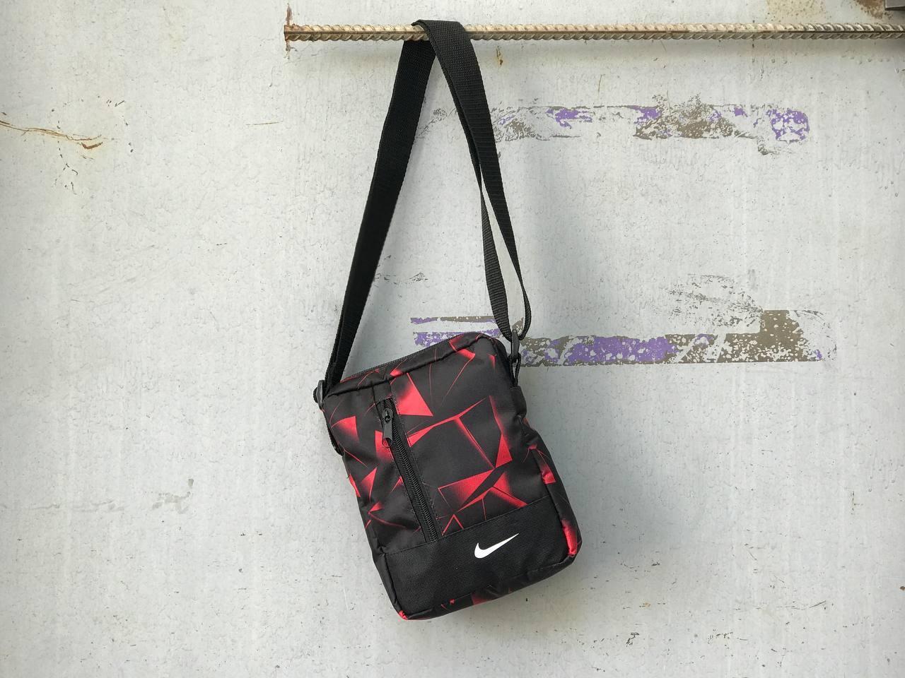 Сумка через плечо Nike красная