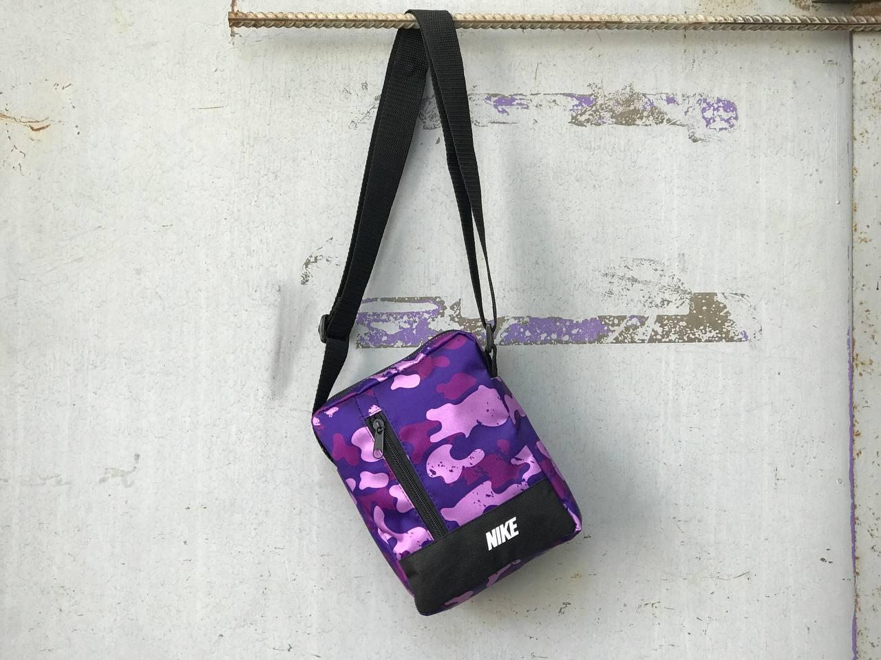 Сумка через плечо Nike фиолетовая