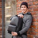 Чоловічий шкіряний рюкзак від виробника, фото 3