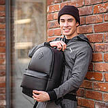 Мужской кожаный рюкзак, фото 3