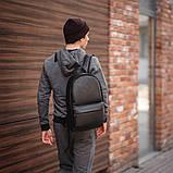 Мужской кожаный рюкзак, фото 4