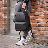 Чоловічий шкіряний рюкзак від виробника, фото 2